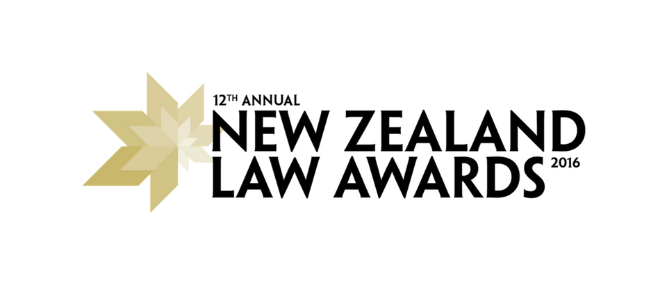 Tompkins Wake NZ Law Awards 2016 finalist