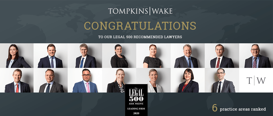 Tompkins Wake a rising star in Legal 500 rankings