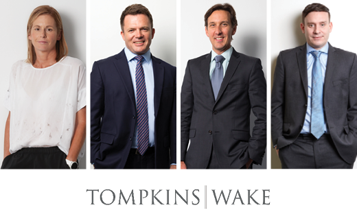 More growth for Tompkins Wake in Auckland