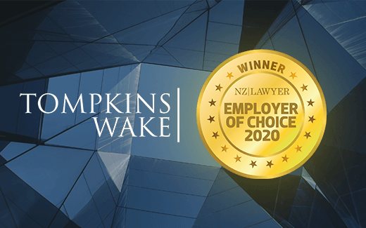 Tompkins Wake named as an employer of choice