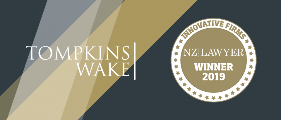 Tompkins Wake recognised for its commitment to innovation